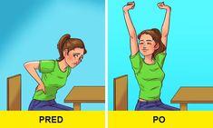 Ako som si cvičením za 30 dní dala do poriadku chrbát Hata Yoga, Fix Your Posture, 30 Tag, 7 Minute Workout, Health And Fitness Magazine, Posture Exercises, Yoga Nidra, Back Muscles, Regular Exercise