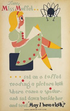 Epic vintage library poster.