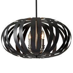 "Urban Renewal Woodstock Chandelier with Textured Black Finish. Available in Small, Medium & Large. Body (Steel). Listed for Dry Locations.     Details: (Small/Medium) - Supplied with 180'' of wire - Canopy: H: 5 1/2''  Diameter: 3/4'' - *(Large) Supplied with 180'' of ""chain"".    Bulbs: (Medium/Large) 4-6 - candelabra B-10 torpedo 60w Max. 120v - (Small) 1 - medium A-21 100w Max. 120v (Not included)"