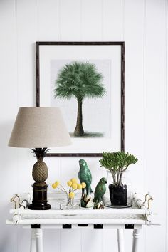 """Mandalay Palm Collection *Palm 06* giclée **print** in faux-bamboo frame from [Boyd Blue](http://www.boydblue.com/