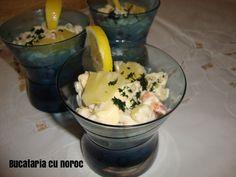 Cocktail de creveti cu ananas - Bucataria cu noroc Noroc, Mashed Potatoes, Ethnic Recipes, Whipped Potatoes, Smash Potatoes
