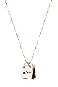 Tattle Tablet Necklace