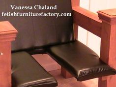 Mature: BDSM Queening Chair Queening Stool by VanessaChalandStudio
