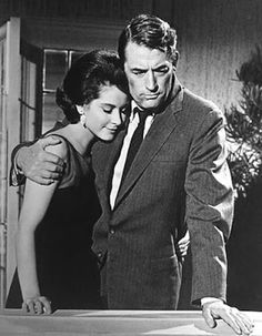 Diane Baker and Gregory Peck