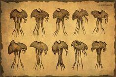 TES Morrowind - Skywind silt-strider art.