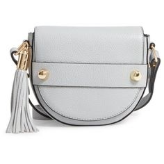 4306823e3 Women s Milly Astor Leather Crossbody Saddle Bag ( 275) ❤ liked on Polyvore  featuring bags