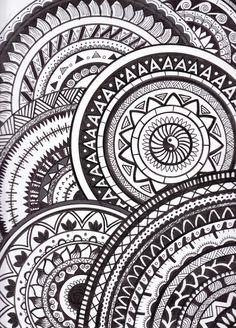 #doodle #drawing #black #white #nano #A