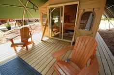 A Glamping Getaway at Long Point Eco Adventures