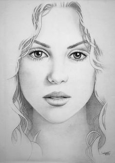 Shakira by Salomón Sarmiento, via Behance