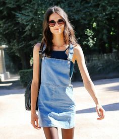 オッさんのTumblr. — vogue:   The denim dress Is the perfect transition...