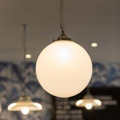 Opaline pendant illuminates the Gourmet Burger Kitchen York
