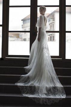 Vestidos de noiva vintage com um toque moderno