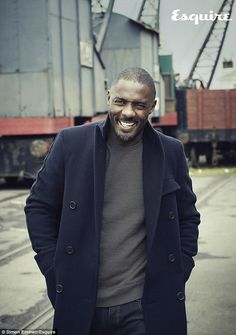 Cele|bitchy » Blog Archive » Idris Elba covers Esquire UK: 'I'm two drinks from being in the tabloids every day'