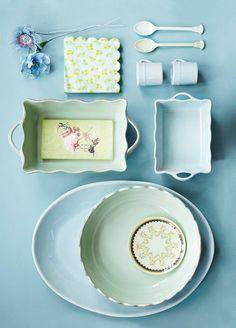 Kleine Ovenschaal in Zachtgroen - Rice - Madame La Poule