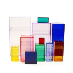 A design classic! AMAC Classic Color Set of storage boxes and container organizers