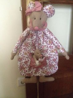 Rata guarda pijamas