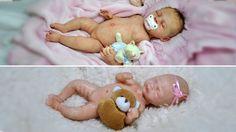 Comparação de Bebê de Silicone Sólido e Corpo Inteiro em Vinil