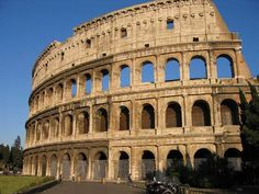 Rome - The Colloseum - where gladiators would fight, massacre all types of wild animals, and even partially fill it with water and have ship battles. Pass the popcorn please.