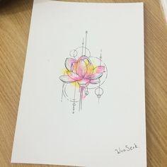 Lotus tattoo idea More