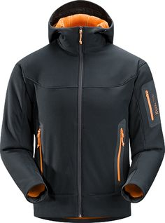 Arc'teryx Hyllus hoody - helpful to keep my body heat while taking out zombies....and I'll look good doing it.