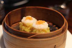 Lung King Heen - Siu mai pork and shrimp dumplings with crab roe