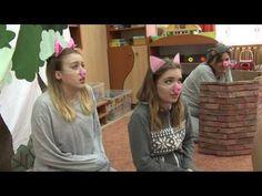 A három kismalac és a farkas, a Református Óvoda előadásában HD - YouTube
