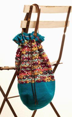 Handarbeiten macht glücklich: Beutel für Strand Shoppen und ....