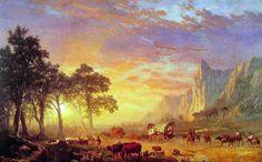 Albert Bierstadt - The Oregon Trail