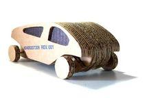 :: diseño cartonero: Cardboard toy car