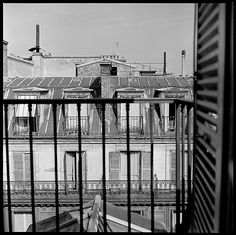 Walker Evans (American, 1903–1975). [12 Views of Rooftops, Possibly from the Hotel Continental, Paris], 1950s. The Metropolitan Museum of Art, New York. Walker Evans Archive, 1994 (1994.252.139.1-12) #paris