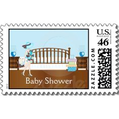 Nursery Baby Shower Postage (BCA)