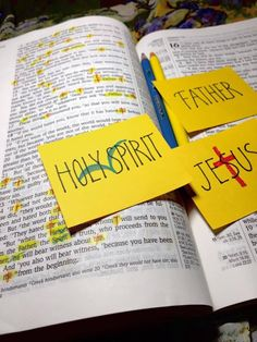 Thirty Days in John 15, Day 3: Father, Son, and Holy Spirit   The Doorposts Blog