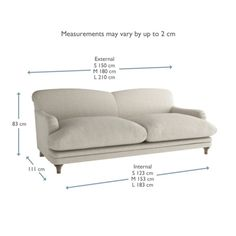 Pudding Sofa | Traditional Style Sofa | Loaf