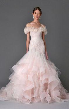 Featured Dress: MARCHESA; Pinterest title: How Much Does a Wedding ...