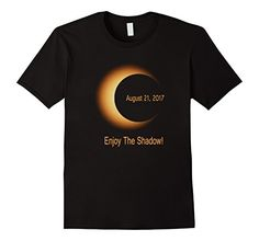 Amazon.com: Total Solar Eclipse August 21st 2017 T Shirt. Total Solar Eclipse August 2017 Shirt #Solar #Eclipse #SolarEclipse #sun #moon August eclipse t-shirt. Perfect to wear on U.S. Ring Of Total Solar Eclipse watching trip or party. Awesome for solar eclipse chasers,eclipse enthusiasts, students, teachers,friends, Actual astronomer, stargazer as gift. This eclipse will be the first time since February 1979 that can be seen from 48 States.