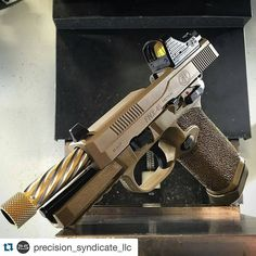 from @weaponsdaily -  FNX-45 Tactical. PC: @Precision_Syndicate_llc