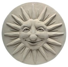 Carruth 178 Summer Solstice Plaque by Carruth. $50.00. Includes cork pads. Will endure year-round garden display. Delightfully witty detail. 11.5-inch diameter. Cast stone concert. Amazon.com                The summer solstice may only happen once a year, but you can celebrate the longest day on the calendar year-round with this cheerful sun plaque. Cast from an original design by Carruth Studio, the Summer Solstice Plaque is made of stone concrete and will keep smiling season ...