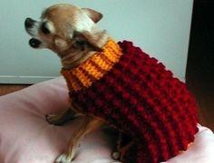 Crochet+Dog+Sweater+Printable+Pattern | Immediate Download - PDF Crochet Pattern - Bobble Stitch Dog Sweater
