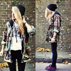 omg i love that style #fashion #street