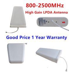 Außen LPDA Antenne high gain 800-2500 MHz GSM 2G 3G 4G Log Periodic Antenne Externe antenne Für Handy Signal Booster