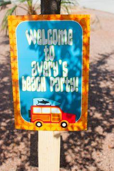 cute beach party ideas