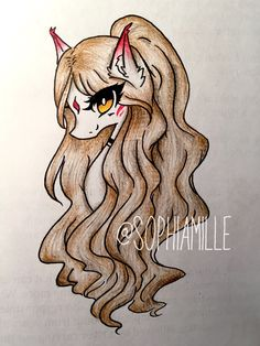 Practiced shading and coloring on Kitsune today. It look much longer then expected ;-;