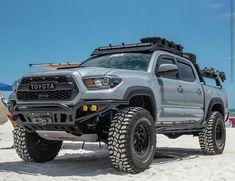 Toyota Tacoma 4x4, Tacoma Truck, Jeep Truck, Pickup Trucks, Overland Truck, Overland Tacoma, Tactical Truck, Montero Sport, Truck Covers