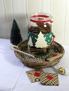 gefüllter Tee - Adventskalender im Vorratsglas II von FrlBetty auf DaWanda.com