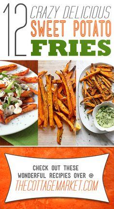 12 Crazy Delicious Sweet Potato Fries - The Cottage Market
