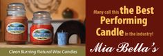 Log onto: www.hjccandles.sc... and enter the free candle drawing.  Good luck!  Mia Bella Candles are the best performing candle.