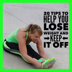 20 tips to help you lose weight and keep it off! Exercise 30 to 60 minutes a day. Eat small meals often and don't skip meals. Remove all unhealthy snacks from the hom 6 Meals A Day, High Fiber Breakfast, Stress, Lose Weight, Weight Loss, Small Meals, Diet And Nutrition, Physical Activities, Fitness Diet