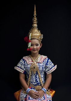 Thai traditional dancer, Thailand, via Flickr.