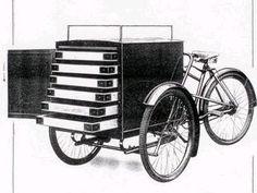 vintage cargo bike photos - Google Search