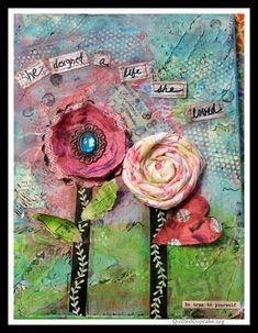 Mixed Media Art Canvas Ideas |